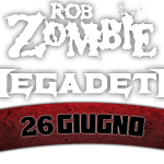 Rob Zombie Megadeth Postepay Rock in Roma 2014