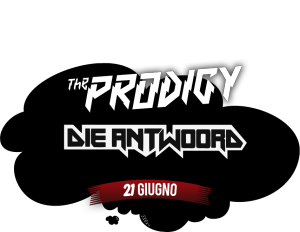 The Prodigy Die Antwoord Postepay Rock in Roma 21 giugno 2014